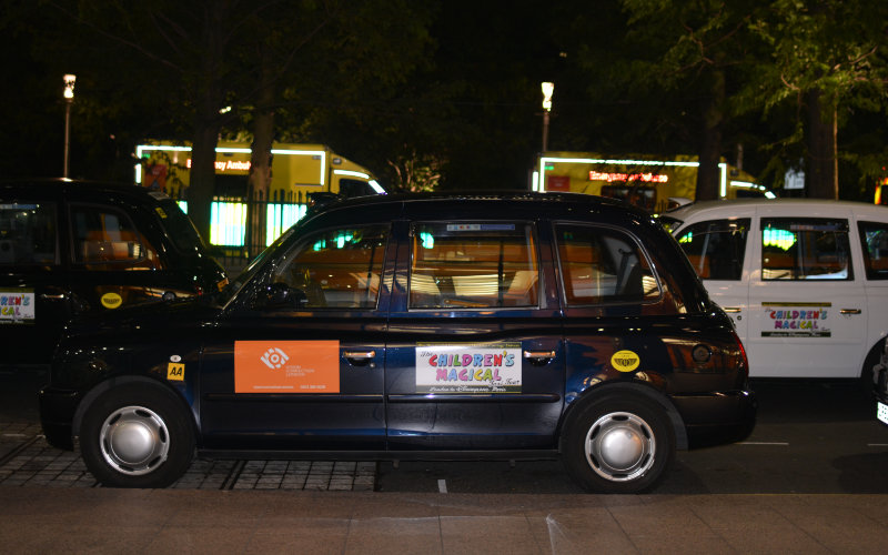 Children's magical taxi