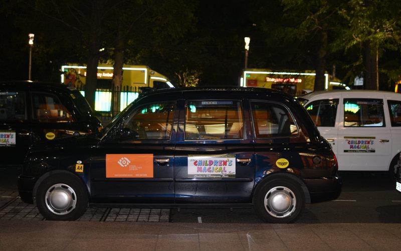 Children's magical taxi