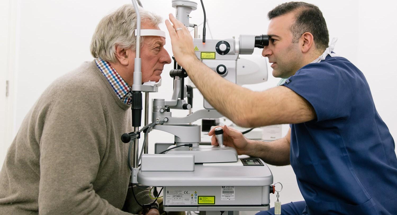 ali mearza eye consultation