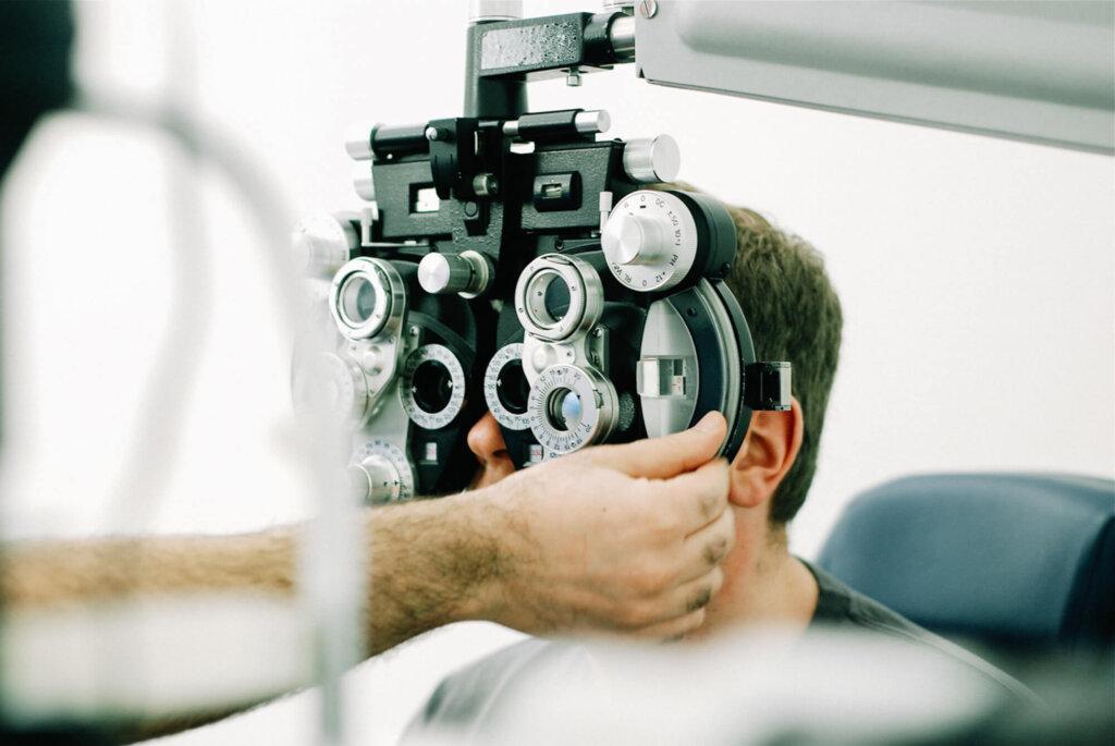 eye prescription test
