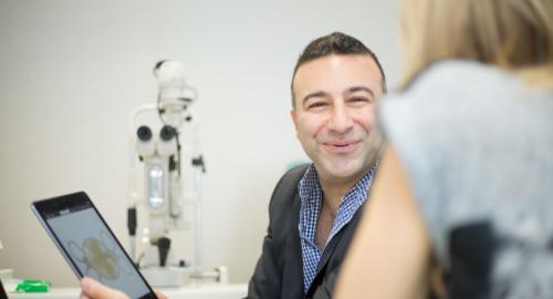 laser eye surgeon